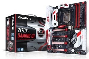 GA-Z170X-GAMING G1 S1151 Z170 ATX SND+GLN+U3.1 SATA6GB/S DDR4 IN