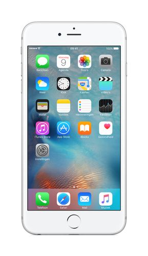 APPLE iPhone 6s Plus 128GB - Mobiltelefon - Sølv (MKUE2QN/A)