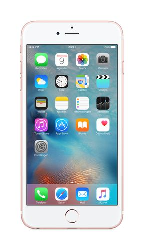 APPLE iPhone 6s Plus 128GB - Mobiltelefon - Rosegull (MKUG2QN/A)
