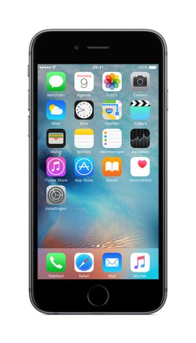 APPLE iPhone 6s 128GB - Mobiltelefon - Stellargrå (MKQT2QN/A)