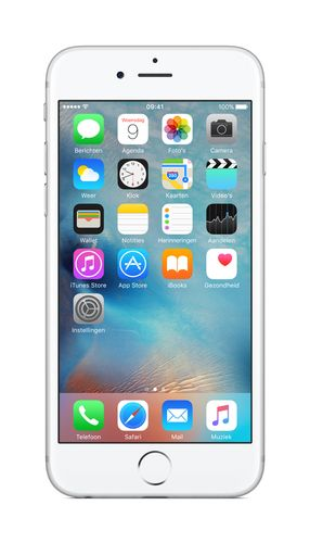APPLE iPhone 6s 64GB - Mobiltelefon - Sølv (MKQP2QN/A)