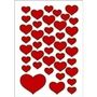 HERMA Decor Stickers small hearts 3 sheets