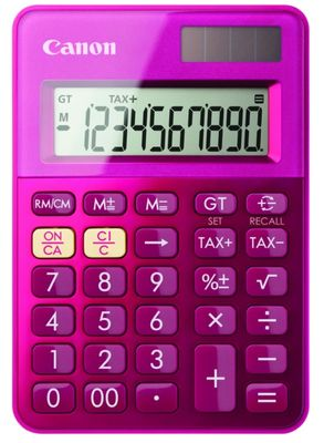 LS-100K-MPK mini pocket calculator pink