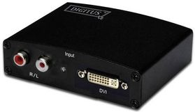 DIGITUS MULTIM. DVI/AUDIO TO HDMI CONV BIS ZU 1080P BANDBREITE 225MHZ CABL (DS-40230)