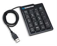 Ultra Slim Numeric Keypad USB Black