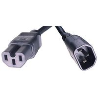 2.5M C15 to C14 N.A. Power Cord