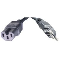 2.5M C15 to NBR 14136 Fig13 Power Cord