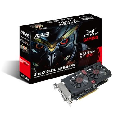 RADEON STRIX-R7370-DC2-2GD5-GA 2GB GDDR5 975MHZ 2XDVI HDMI DP   IN CTLR