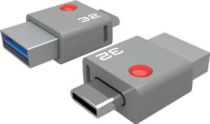 USB-Stick 32GB DUO USB-C T400 USB 3.0