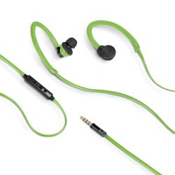 CELLY (SPORT EARPHONES 3.5 MM GREEN) (AIRPRO100GN)