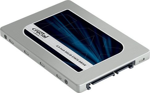 """CRUCIAL Crucial® MX200 500GB 2.5"""" SSDSATA 6GB/s  555MB/ 500MB,  with 9.5mm adapter (CT500MX200SSD1)"""
