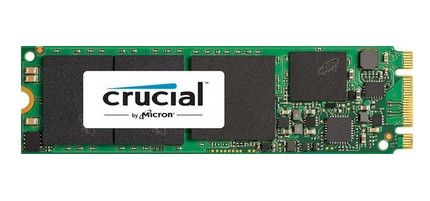 Crucial® MX200 500GB M.2 Type 2280SS SSD M.2, type 2280SS Single Sided, SATA 6GB/s, 555MB/ 500MB read/ write