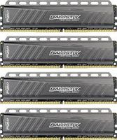 Ballistix Tactical 16G DDR4, 4x288, 2666Hz