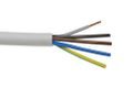 Coferro A/S COF-LET-J 3G1,5mm² HF 90° 100m, Halogenfree installation cable, Meter marking