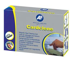 AF Cardclene Pre-Saturated Cleaning Cards In Sachets **20-pack** (CCP020)
