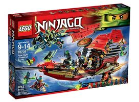 NINJAGO 70738 Final Flight of Destiny's Bounty