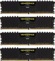 V LPX 16GB DDR4 Black 4x288, 2400MHz