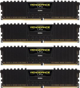 CORSAIR V LPX 64GB Kit DDR4 4x288, 2400MHz, Black (CMK64GX4M4A2400C14)