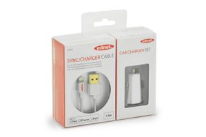APPLE CAR CHARGER SET .
