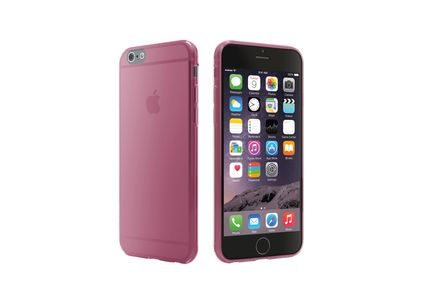 CYGNETT iPhone 6 Super-Thin Gel case / Translucent Pink (CY1741CPAER)