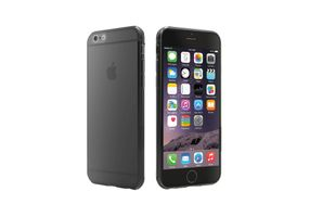 CYGNETT iPhone 6 Super-Thin Gel case / Translucent Grey (CY1740CPAER)