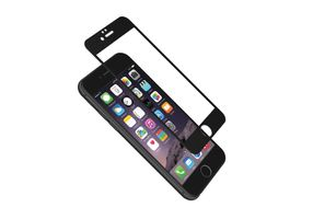 CYGNETT iPhone 6 9H Glass Screen Protector w/ aerometal frame Clear/ Black (CY1730CPTGL)