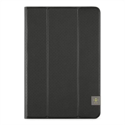 "Trifold Folio 8"" - Black iPad mini/ 2/ 3/ 4,  Tab A 8"", Tab S2 8"""