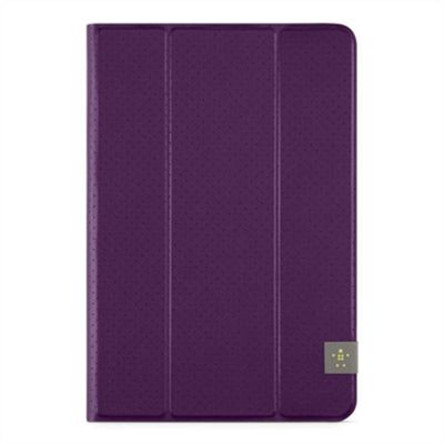 Universal 8'' Tri Fold Tablet Cover, purple