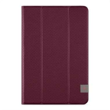 UNIVERSAL TRIFOLD COVER IPAD MINI 2/3/4 8IN DARKRED ACCS