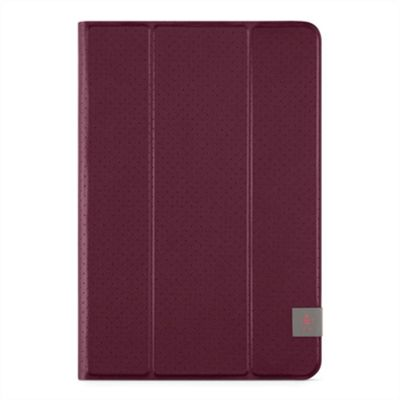 Universal 8'' Tri Fold Tablet Cover, dark red