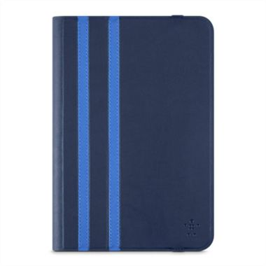 UNIVERSAL TWIN STRIPE COVER IPAD MINI 2/3/4 8IN DARKBLUE ACCS
