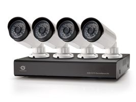 4-CHANNEL AHD CCTV SURV KIT                                  IN CAM