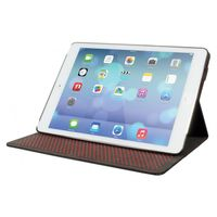iPad Air Black PU with Red trim