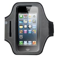 Universal sports armband for Smartphones up to 5_2 inch Black/ Grey