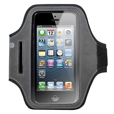 Cygnett Universal sports armband for Smartphones up to 5_2 inch Black/ Grey