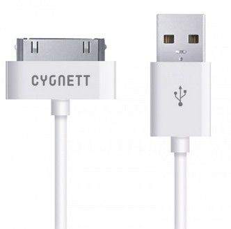 Cygnett USB to 30-Pin Charge _ Sync cable 2_0m /White