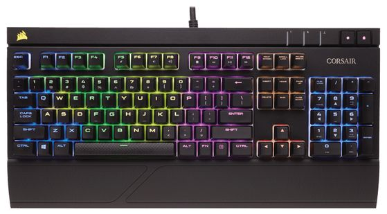 Gaming Strafe RGB Cherry MX Blue, Multi LED
