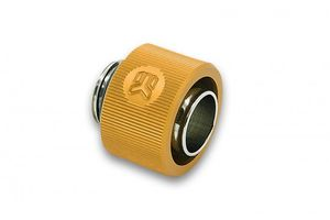 EKWB EK-ACF 12/16mm - Gold Fitting Thread: G1/4, Tubes: 11.1/ 15.9mm - 12/16mm, Height: 15.6mm