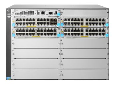 Hewlett Packard Enterprise 5412R 92GT PoE+ and 4-port SFP+ (No PSU) v3 zl2 Switch (JL001A)