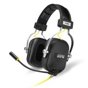 Sharkoon SHARK ZONE H30 Gaming Headset, Svart med gule detaljer