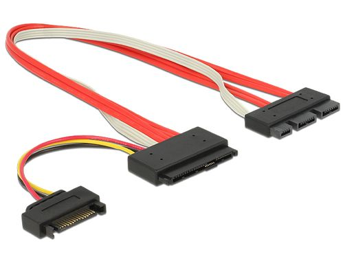 Cable SATA 18pin + SATA Power - SATA 29pin