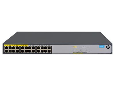 Hewlett Packard Enterprise HPE 1420-24G-PoE+ (124W) Switch (JH019A#ABB)