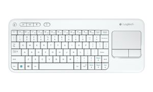 WIRELESS TOUCH KEYBOARDK400PLUS WHITE (US INTERNATIONAL) IN