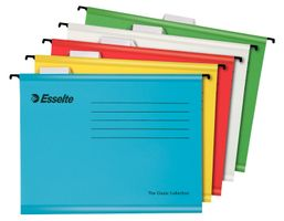 Susp.File Classic A4 10pcs assorted