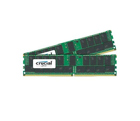 Crucial 4x32GB 2400MHz DDR4 CL15 DR x4 Registered DIMM 288pin