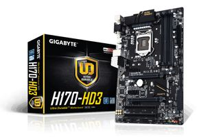 H170-HD3 Socket 1151, ATX