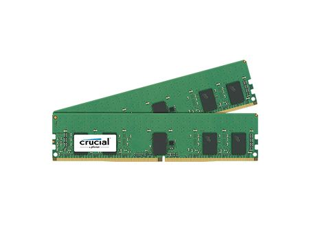 16GB KIT (8GBX2) DDR4 2400 MT/S CL17 SRX8 REGISTERED DIMM 288PIN