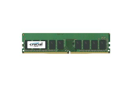 CRUCIAL 8GB DDR4 2400 MT/S (PC4-2400) CL17 SRX8 ECC UNBFRD DIMM 288PIN (CT8G4WFS824A)