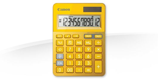 LS-123K-MYL EMEA DBL METALLIC YELLOW / CALCULATOR