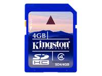 KINGSTON SDHCCard 4GB SDcard 2.0 SDHC highspeed class 4